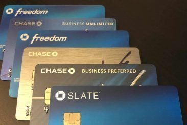 Various Chase Credit Cards